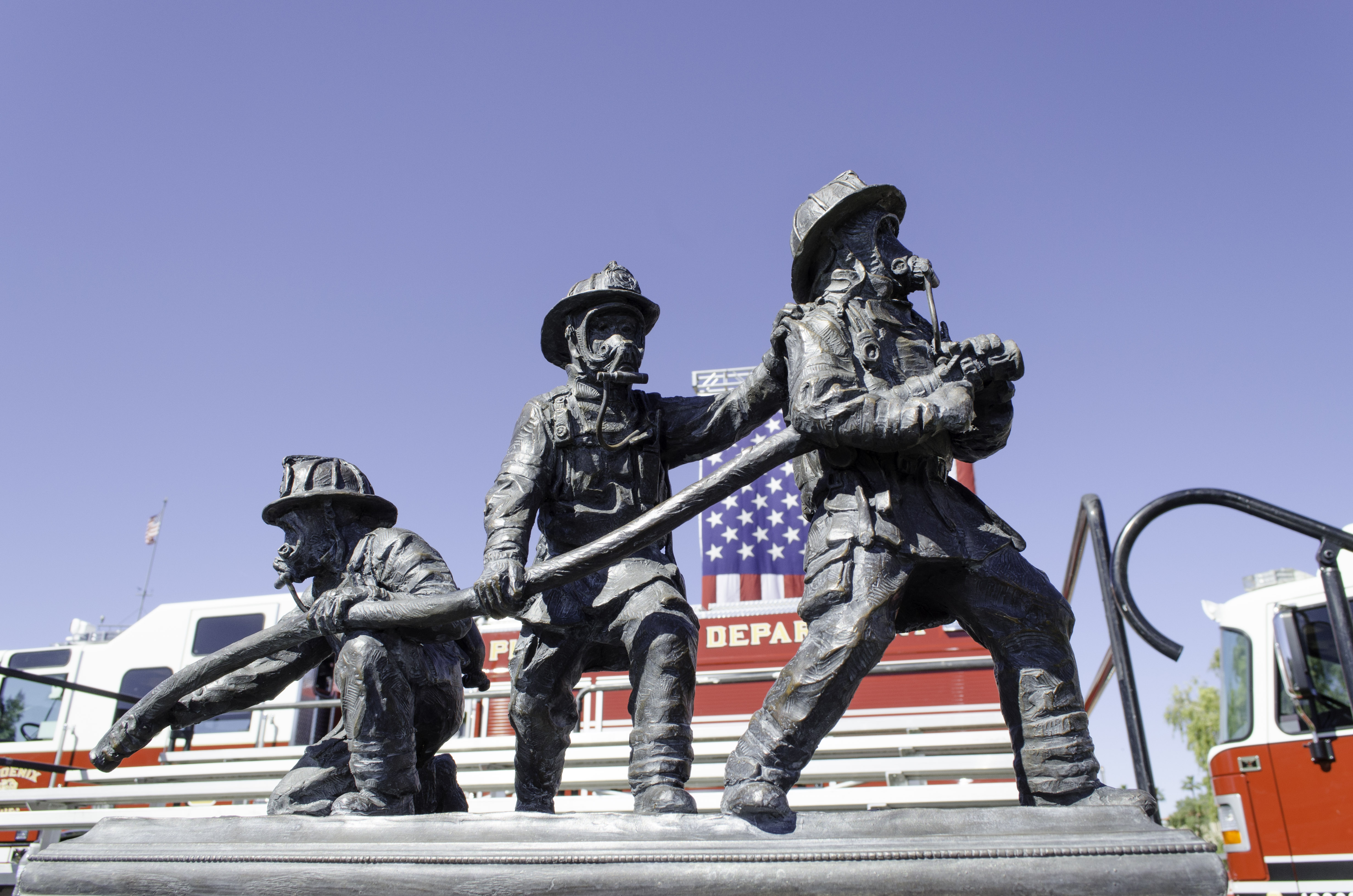 Firefighters Marching At Capitol >> Home Arizona Fallen Firefighters Emergency Paramedics Memorial